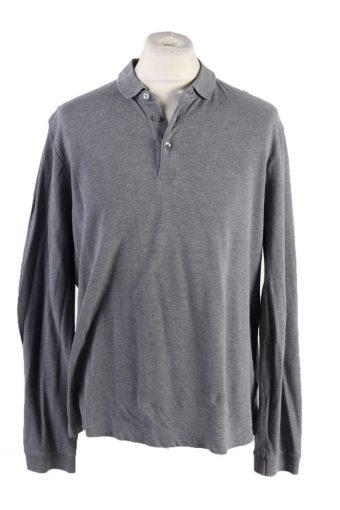 Joop Polo Shirt 90s Retro Grey XL