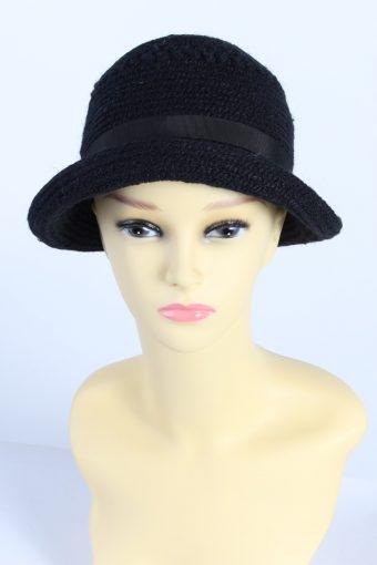Vintage Everitt Knit Winter Hat With Belt Warmest