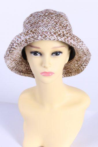 Vintage Knit Winter Hat Brimmed Warmest Fashion
