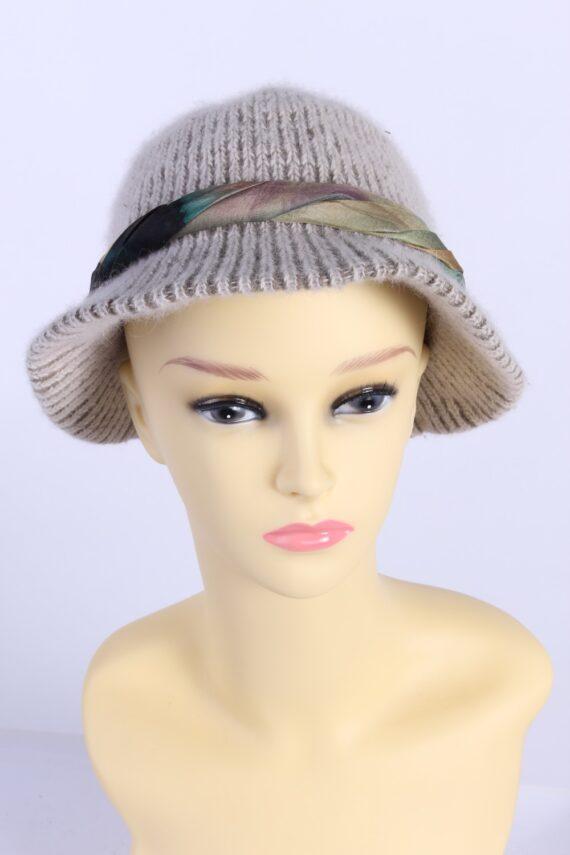Vintage Creation Classique Avenue Knit Hat Brimmed 1990s Multi - HAT611-0