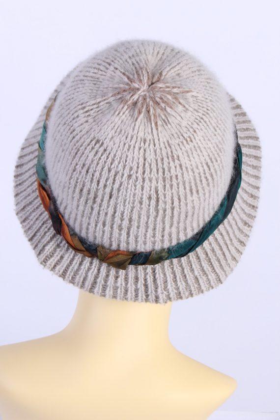 Vintage Creation Classique Avenue Knit Hat Brimmed 1990s Multi - HAT611-119325