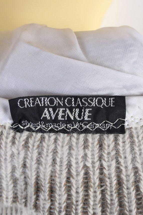 Vintage Creation Classique Avenue Knit Hat Brimmed 1990s Multi - HAT611-119326