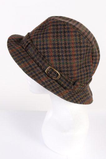 Vintage Chisnall 1980s Fashion Trilby Hat Multi HAT635-120103