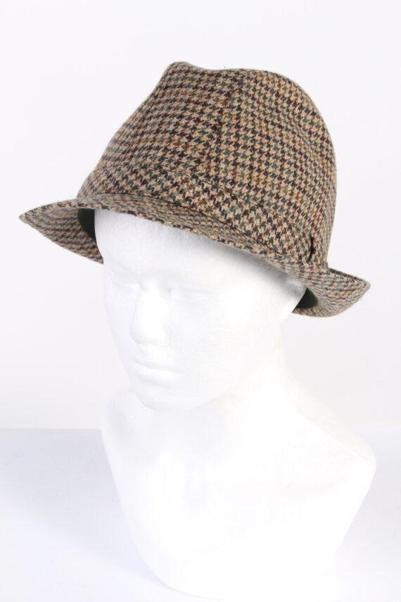 Vintage M. Bayer 1980s Fashion Trilby Hat Multi HAT660-0