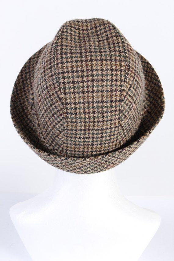 Vintage M. Bayer 1980s Fashion Trilby Hat Multi HAT660-120242