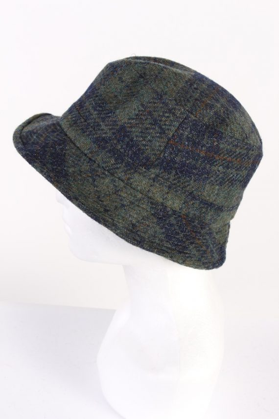 Vintage Gottmann 1980s Fashion Trilby Hat Multi HAT668-120209