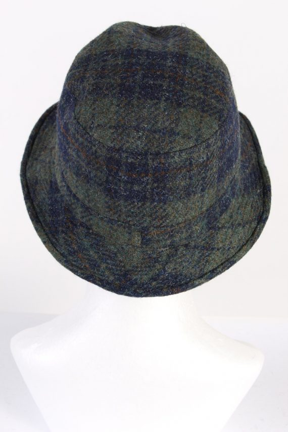 Vintage Gottmann 1980s Fashion Trilby Hat Multi HAT668-120210