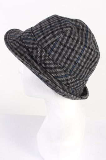 Vintage Henry Stanley 1980s Fashion Trilby Hat Multi HAT684-120146
