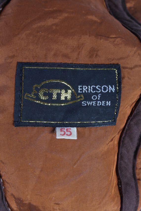 Vintage CTH 1990s Fashion Winter Hat Brown HAT691-120260