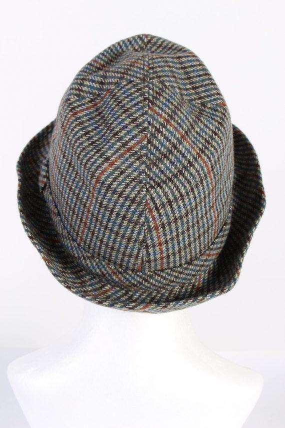 Vintage Wegener 1980s Fashion Trilby Hat Multi HAT701-120299