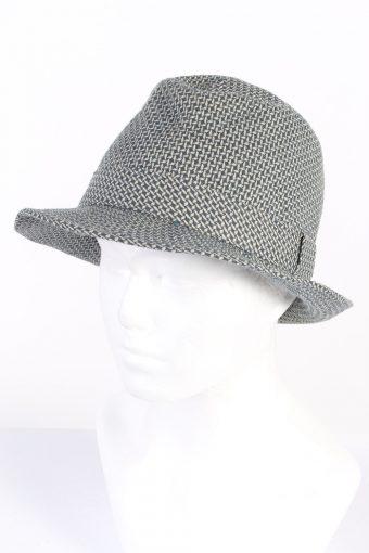 Vintage CA Canda Fashion Felt Trilby Hat