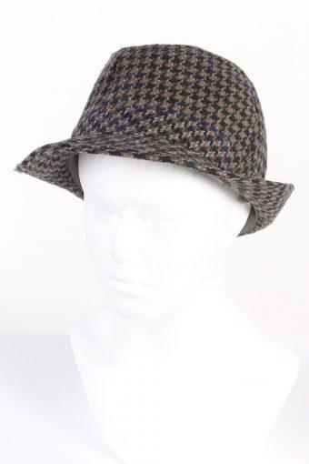 Vintage CA Canda Fashion Trilby Hat