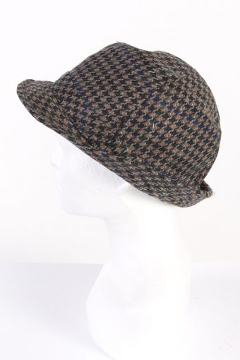 Vintage C&A Canda 1980s Fashion Trilby Hat Multi HAT748-120489
