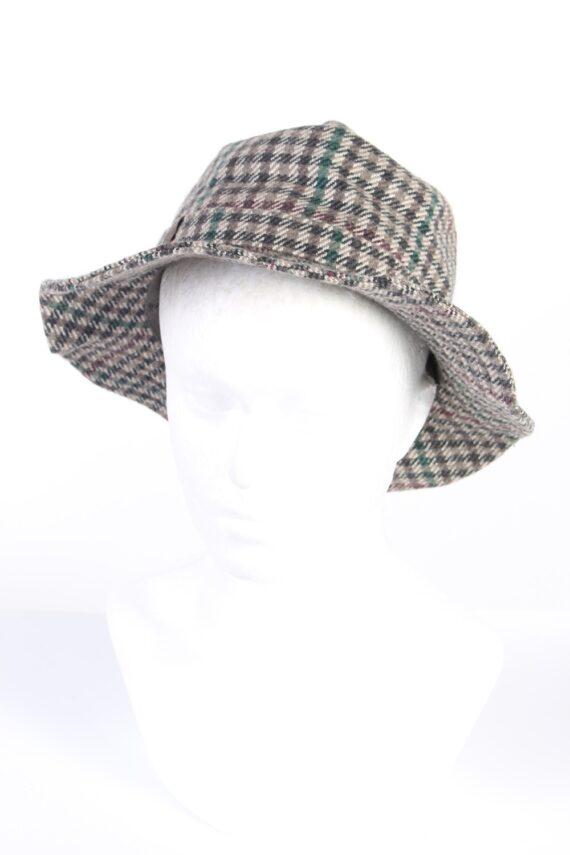 Vintage Mayser 1980s Fashion Trilby Hat Multi HAT754-0