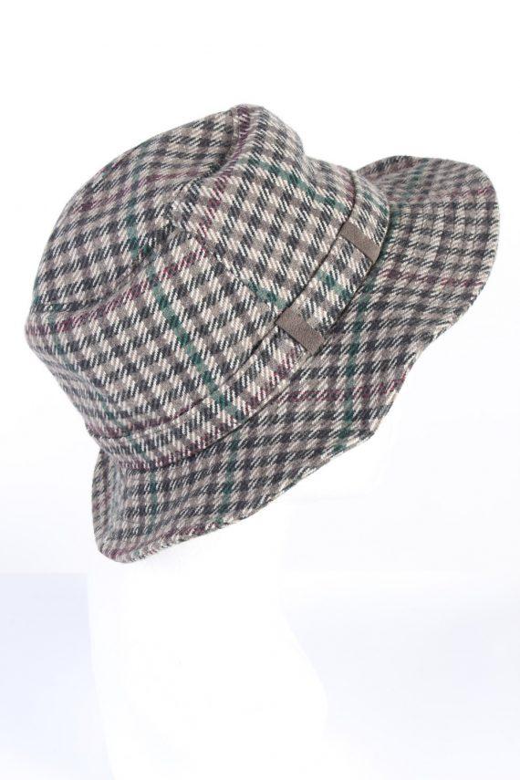 Vintage Mayser 1980s Fashion Trilby Hat Multi HAT754-120572