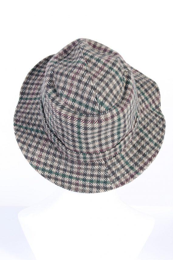 Vintage Mayser 1980s Fashion Trilby Hat Multi HAT754-120573