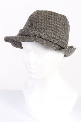Vintage Fashion Felt Trilby Hat