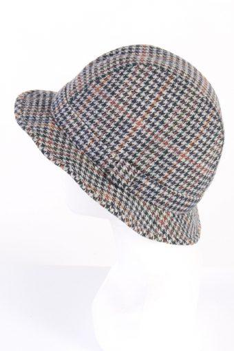 Vintage C&A Westbury 1990s Fashion Winter Hat Multi HAT781-120620