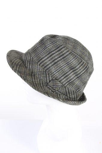 Vintage Henry Morell 1980s Fashion Trilby Hat Multi HAT799-120691
