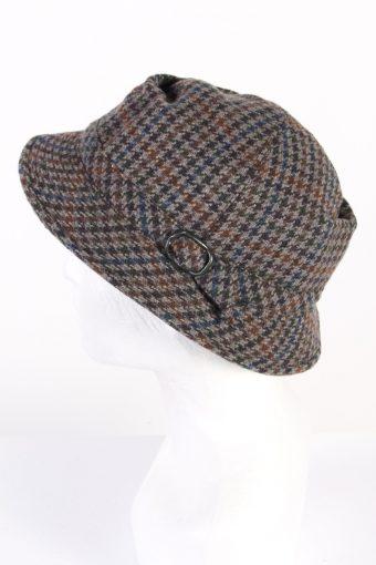 Vintage Drosten 1990s Fashion Winter Hat Multi HAT819-120767