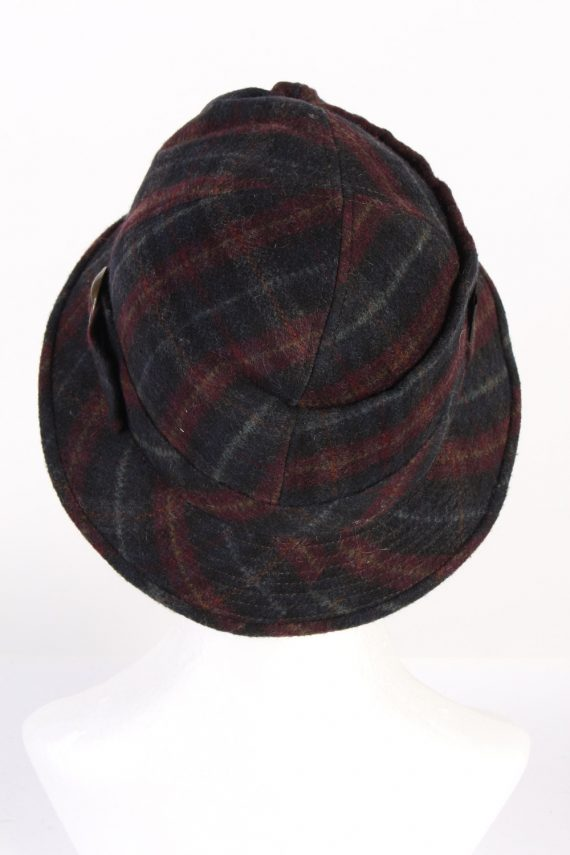 Vintage Mayser 1990s Fashion Winter Hat Multi HAT828-120802