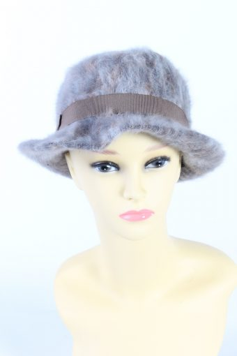 Vintage Fashion Trilby Winter Hat