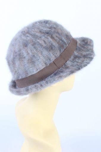 Vintage 1990s Fashion Trilby Winter Hat Multi HAT842-121279