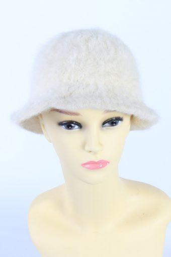 Vintage Fashion Brimmed Winter Hat