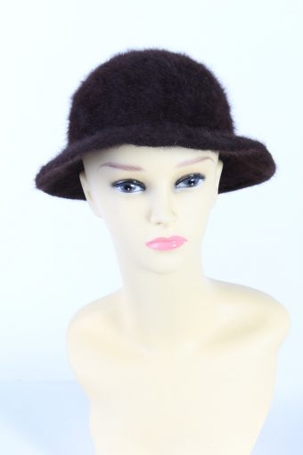 Vintage Fashion Brimmed Fleecy Winter Hat