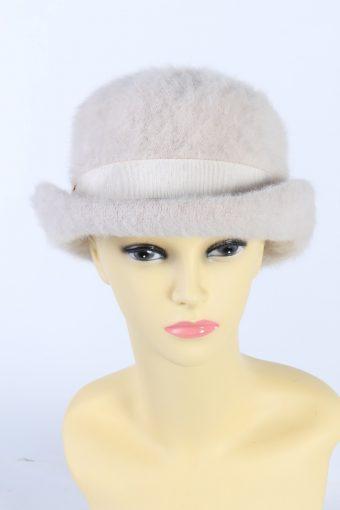 Vintage CA Fashion Brimmed Winter Hat