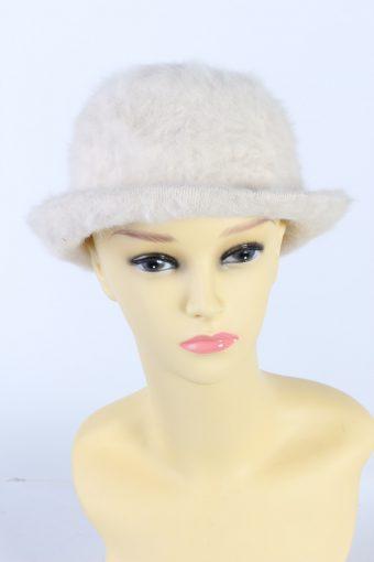 Vintage Kangora Angora Soft Fashion Brimmed Winter Hat
