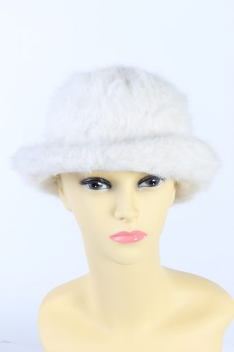 Vintage LL Modell Fashion Brimmed Winter Hat