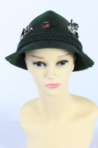 Vintage Fashion Brimmed Hat