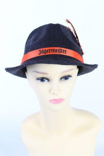 Vintage Jaegermeister Fashion Brimmed Hat
