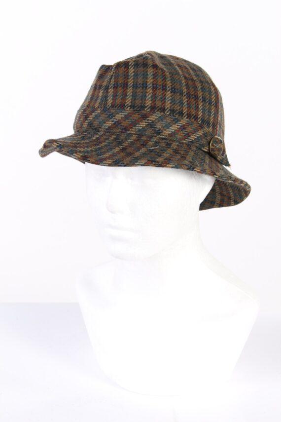 Vintage Wegener 1990s Fashion Lined Winter Hat Multi HAT931-0