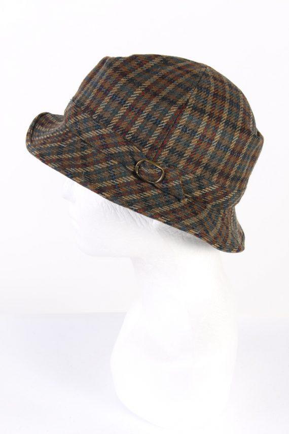 Vintage Wegener 1990s Fashion Lined Winter Hat Multi HAT931-121723