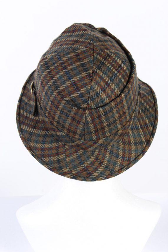 Vintage Wegener 1990s Fashion Lined Winter Hat Multi HAT931-121724
