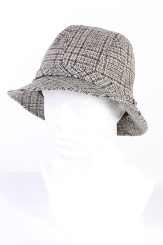 Vintage 1990s Fashion Lined Winter Hat Multi HAT941-0
