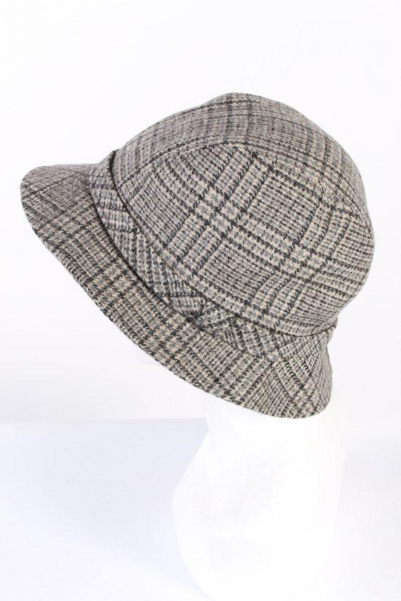 Vintage 1990s Fashion Lined Winter Hat Multi HAT941-121685