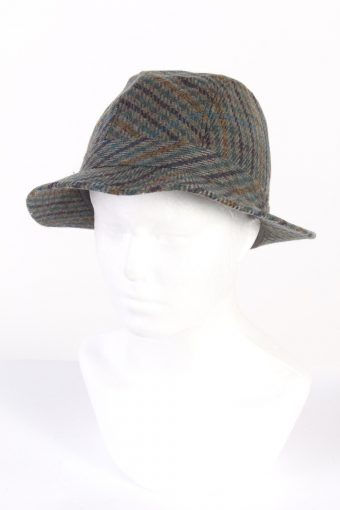 Vintage Horka Head Wear Fashion Lined Trilby Hat