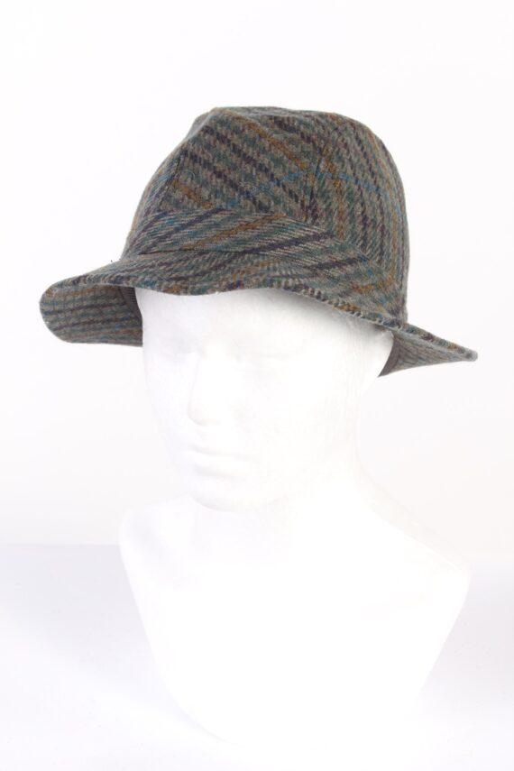 Vintage Horka Head Wear 1980s Fashion Lined Trilby Hat Multi HAT946-0