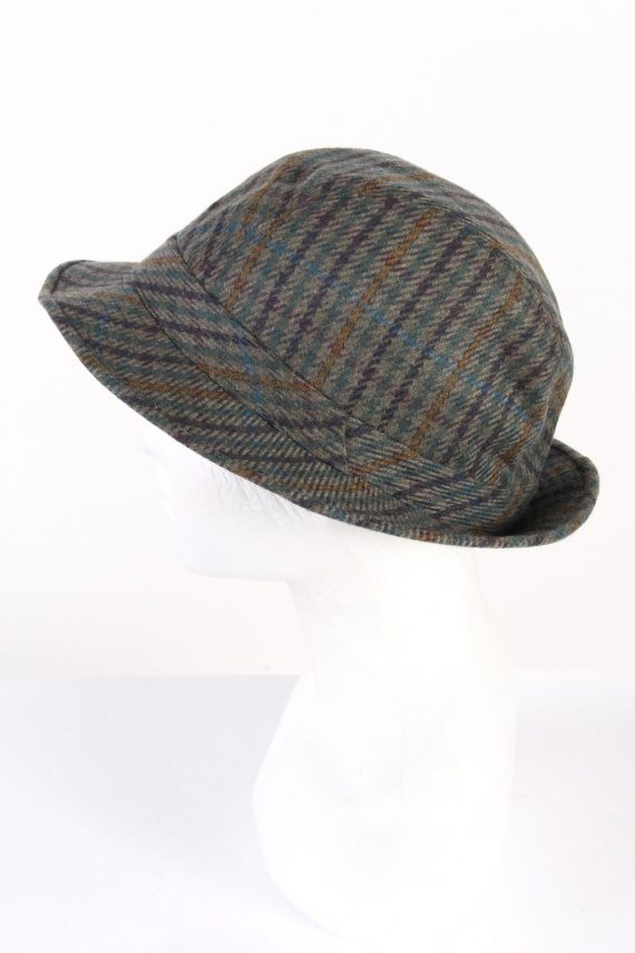 Vintage Horka Head Wear 1980s Fashion Lined Trilby Hat Multi HAT946-121666