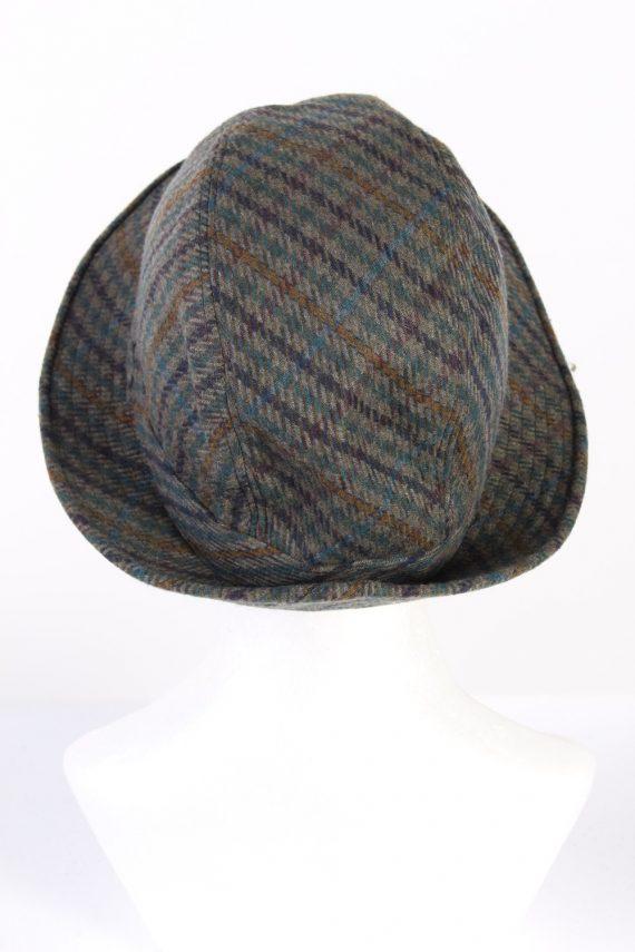 Vintage Horka Head Wear 1980s Fashion Lined Trilby Hat Multi HAT946-121667