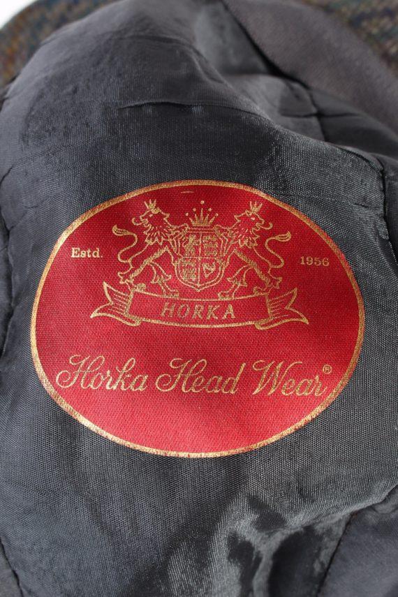 Vintage Horka Head Wear 1980s Fashion Lined Trilby Hat Multi HAT946-121668