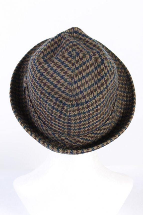 Vintage Henry Stanley 1980s Fashion Lined Trilby Hat Multi HAT954-121638