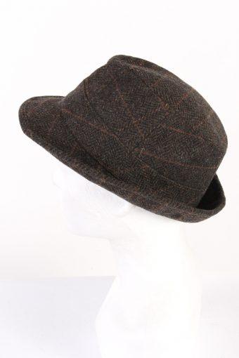 Vintage C&A Westbury 1980s Fashion Trilby Hat Multi HAT955-121633