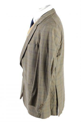 "Vintage Burberrys Classic Blazer Jacket Chest 44"" Multi HT2673-121546"