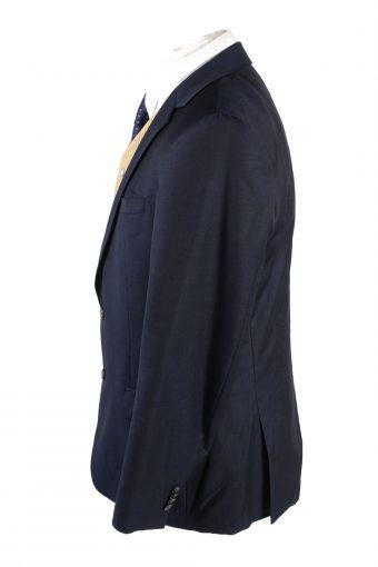 """Vintage Hugo Boss Classic Blazer Jacket Chest 44"""" Navy HT2676-121558"""