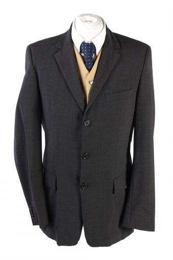 Hugo Boss Classic Blazer Jacket Dark Grey M