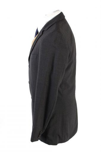 "Vintage Hugo Boss Classic Blazer Jacket Chest 42"" Dark Grey HT2677-121562"